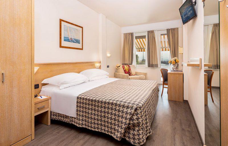 hotel santa margherita ligure Camera doppia/matrimoniale con letto aggiunto in poltrona